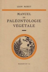 Manuel de paléontologie végétale