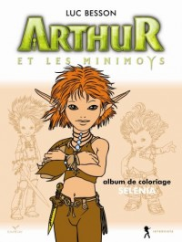 Arthur et les Minimoys - Coloriage Selenia