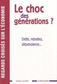 Le choc des générations? Dette, retraites, dépendance...