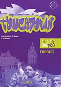 Touch Down Anglais Prem Term-Corrige Papier