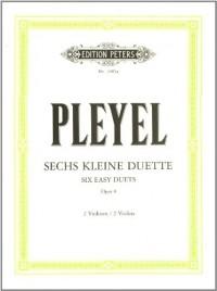 Duos(6) Op.8  Violons