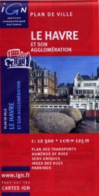 72354 Plan du Havre Sans Livret
