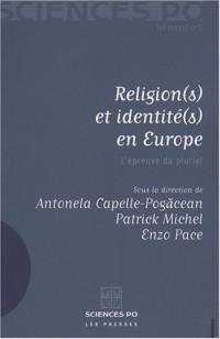 Religions et identités en Europe : L'épreuve du pluriel