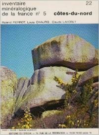 Carte géologique : Inventaire minéralogique de la France, numéro 5 - Côtes du Nord