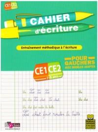 Cahier d'écriture pour gauchers CE1-CE2