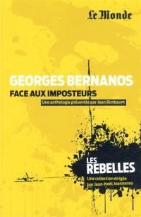 Bernanos face aux imposteurs