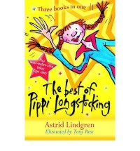 THE BEST OF PIPPI LONGSTOCKING THREE BOOKS IN ONE BY (LINDGREN, ASTRID) PAPERBACK