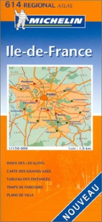 Atlas routiers : Île-de-France, N°20614