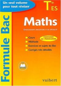 Formule Bac : Maths, terminale ES : Enseignement obligatoire et de spécialité