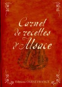 Carnet de recettes d'Alsace