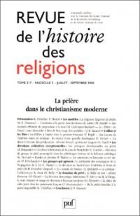 Revue d'histoire religieuse, fascicule 3, tome 217
