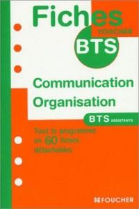 Fiches BTS : Communication et organisation