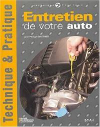 Entretien de votre auto