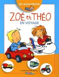 Zoé et Théo en voyage : Les autocollants