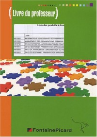 TA C2-C3 Gestion et présentation marchande des produits, communiquer-vendre 2e professionnelle et Tle BEP VAM : Livre du professeur (1Cédérom)