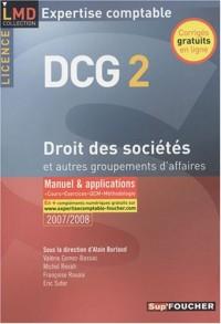 DROIT DES STES ET AUTRES GROUPEMENTS AFFAIRES  (Ancienne édition)