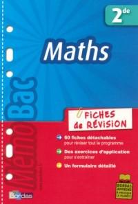 Maths 2e : Fiches de révision