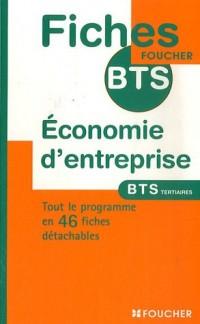 Economie d'entreprise BTS Tertiaires (Ancienne Edition)