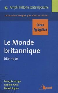 Le Monde britannique (1815-1931)
