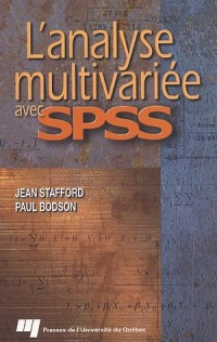 L'analyse multivariée avec SPSS