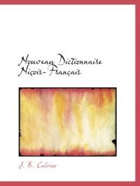 Nouveau Dictionnaire Niçois-Français