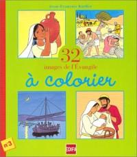 32 images de l'évangile à colorier, numéro 3