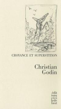 Croyance et superstition