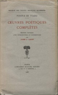 Oeuvres Poétiques Completes