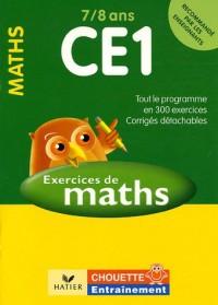 Mathématiques CE1 7/8 ans : Exercices et corrigés