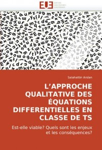 L''approche qualitative des équations differentielles en classe de ts