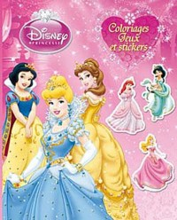 Princesses, COLOS, JEUX ET STICKERS