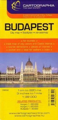 Plan Cartographia Budapest