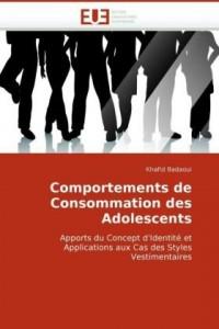 Comportements de Consommation Des Adolescents
