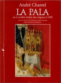 La Pala ou le retable italien des origines à 1500