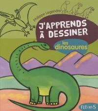 Les dinosaures : Avec un bloc de papier Canson