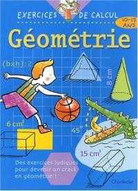 Géométrie : 10-12 ans