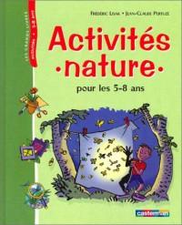 Activités nature pour les 5-8 ans