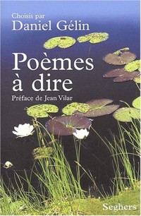 POEMES A DIRE