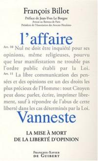 L'affaire Vanneste : La mise à mort de la liberté d'opinion