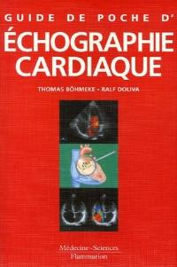 Guide de poche de l'échographie cardiaque