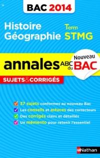 ANNALES BAC 2014 HIST/GEO STMG