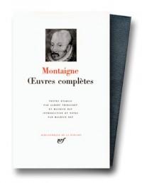 Oeuvres complètes de Montaigne