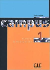 Campus 1 : Fichier d'évaluation