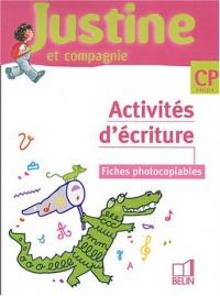 Activités d'écriture CP Cycle 2 : Fiches photocopiables