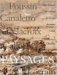 Paysages. Chefs-d'oeuvre du Cabinet des dessins du musée Condé à Chantilly