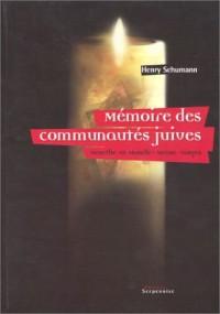 Mémoires des communautés juives : Meurthe-et-Moselle, Meuse et Vosges