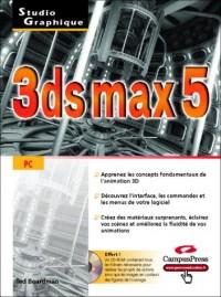3ds max 5 (CD-ROM inclus)