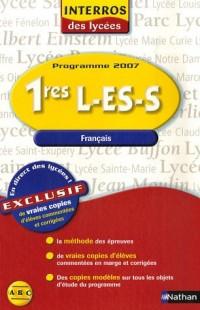Français 1es L-ES-S : Les vraies copies des lycées, programme 2007