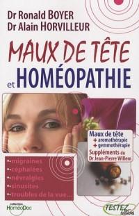 Maux de tête et homéopathie