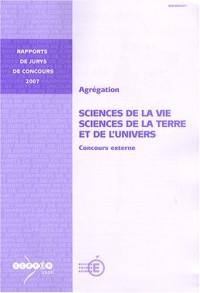 Agrégation, Sciences de la vie, Sciences de la Terre et de l'Univers : Concours externe